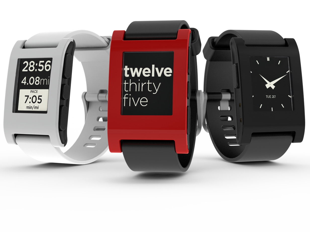 The Pebble Kickstarter Watch Goes to CES