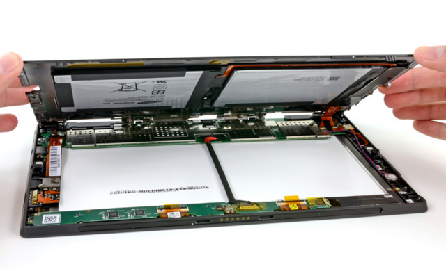 Microsoft Surface Pro Less Repairable Than iPad