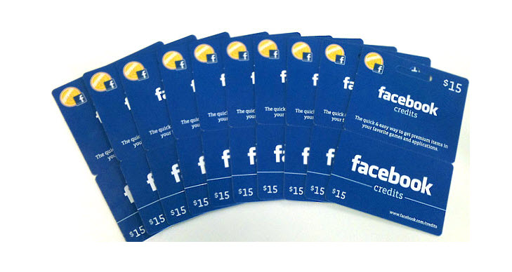 The New Facebook Gift Card will Work in the Real World
