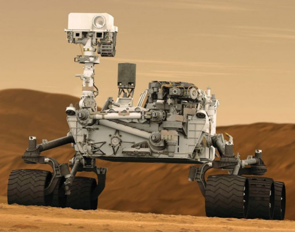 NASA's Rover Curiosity Has a Computer Glitch