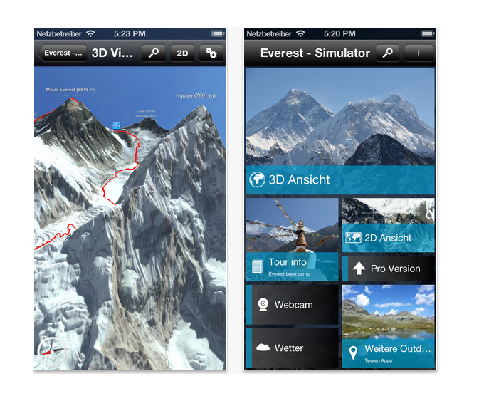Tour Highest Peak with Mount Everest 3D App