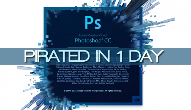 Photoshop Cc Cracked In Under 24 Hours Filehippo News