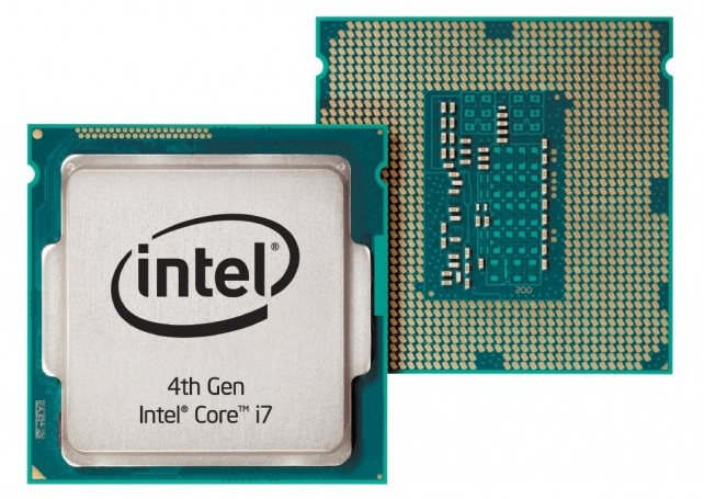 Intel Haswell Chip Image