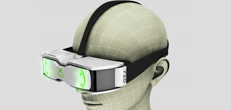 Microsoft Head-Mounted Display in the Works
