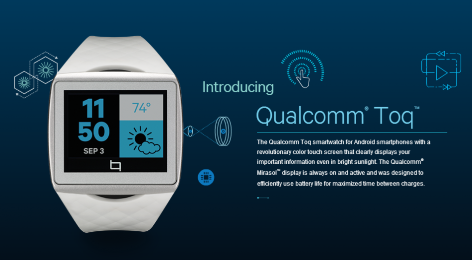 Qualcomm Releases A Smartwatch