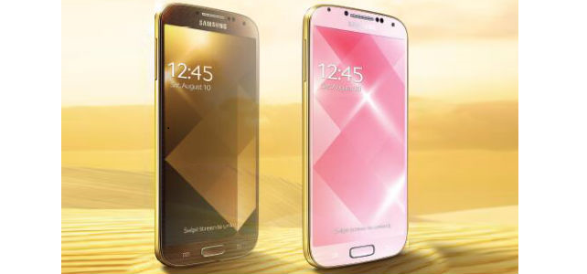 Samsung's Golden Galaxy S4