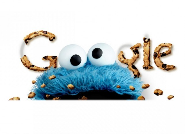 Google Cookies with Sesame Street Cookie Monster