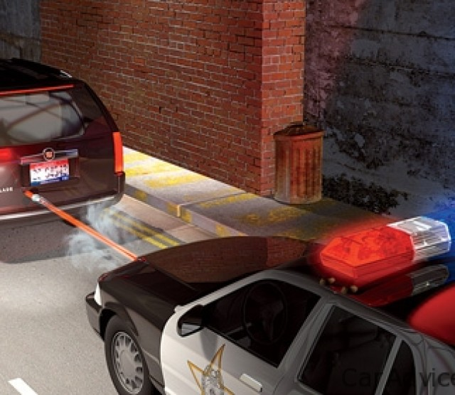 Star Chase System: GPS Bullets for Car Chases