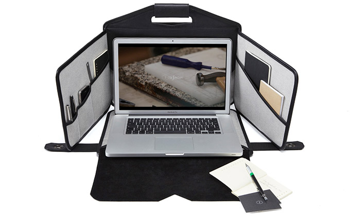 Remove Prying Eyes With This Laptop Privacy Briefcase