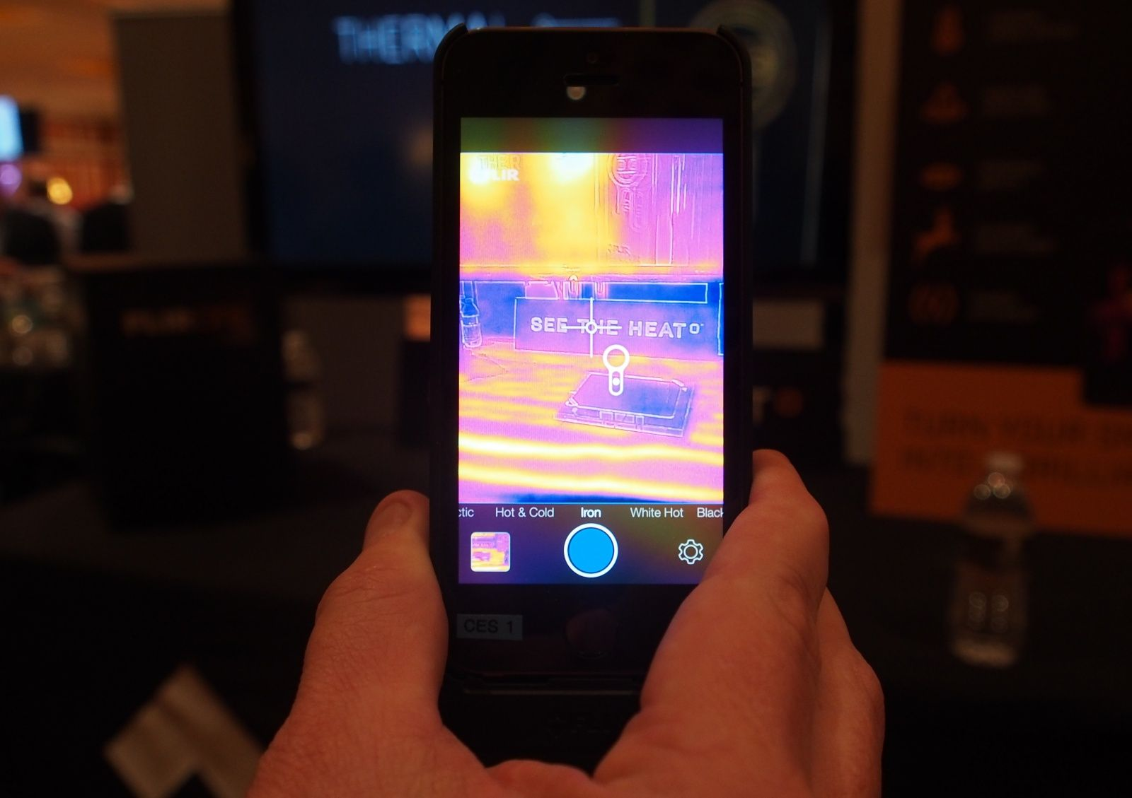 Turn Your iPhone Into A Thermal Imaging Camera
