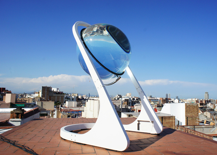 These Solar Glass Orbs Are Super Efficient Energy Generators
