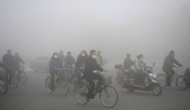 Fake Rain Could Fix China's Smog Problem