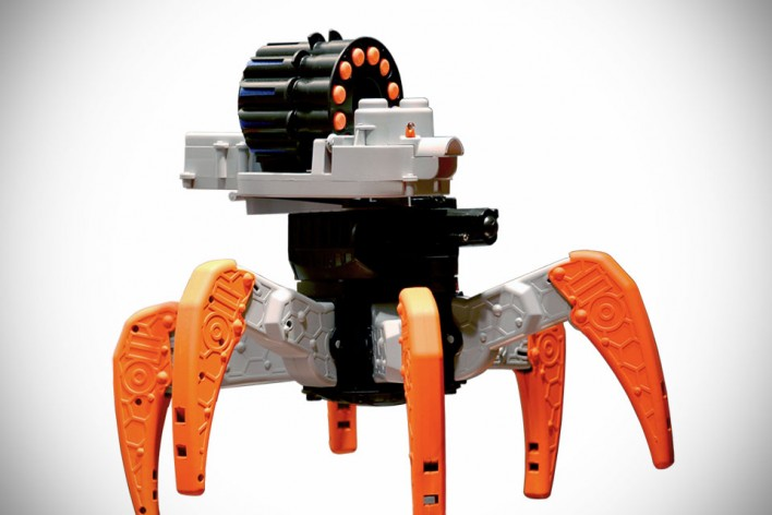 Nerf Robots Promise Hours Of Fun For Kids (& Adults)