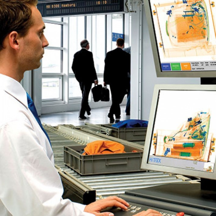 Airport x-ray security
