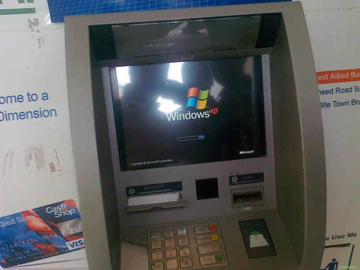 More Than 60% Of ATMs Will Continue Running Windows XP After EOS
