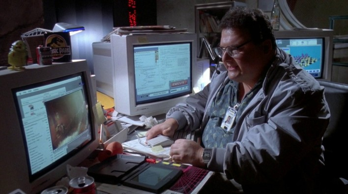 Hack The Jurassic Park Network