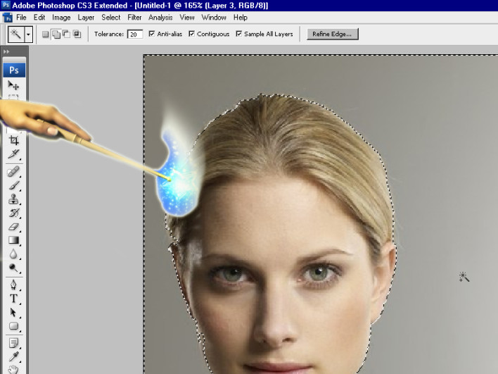 How To Use The Magic Wand Tool In Photoshop