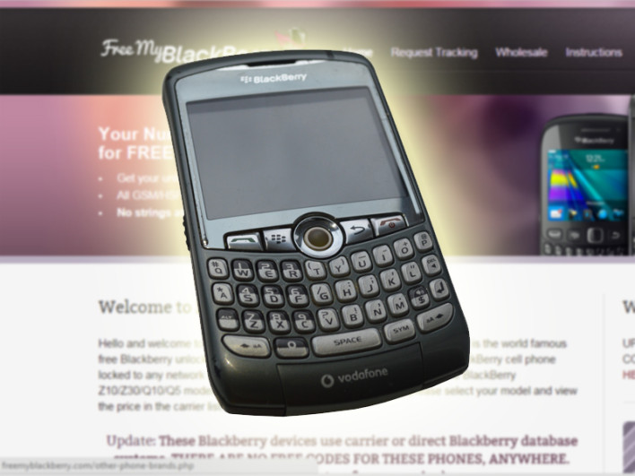 How To Unlock Your Blackberry For Free