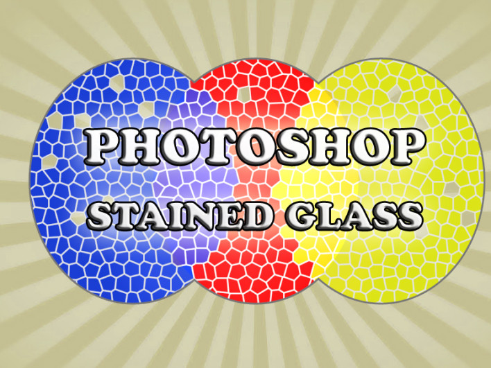 How to use the Stained Glass Filter in Photoshop