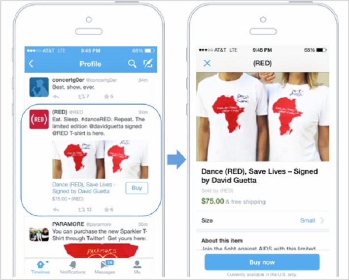 Twitter Buy Button to Launch Next Year