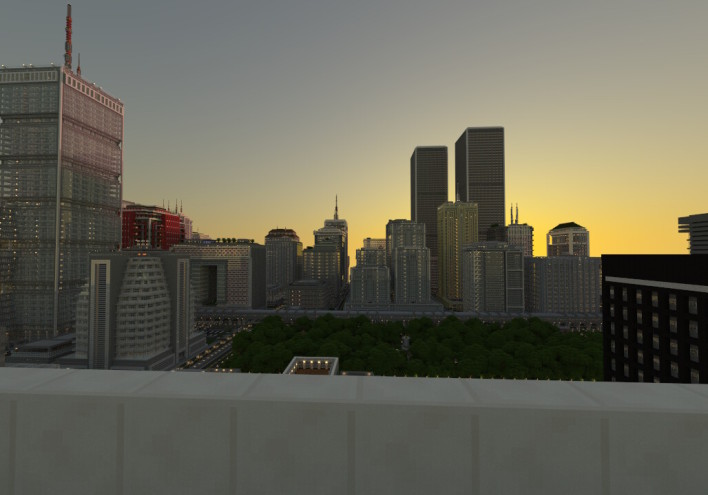 Student Spends 2 Years Creating Minecraft City