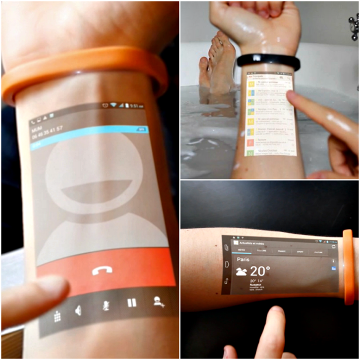 Cicret: A Wearable Projection Band That Could Be The Next Killer Gadget