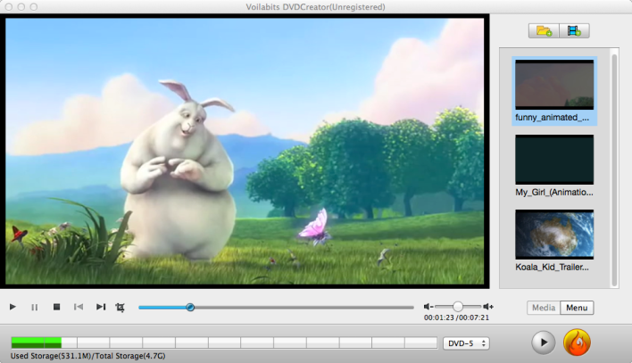 Try your Hand at Pro DVD Menu Editing With Voilabits