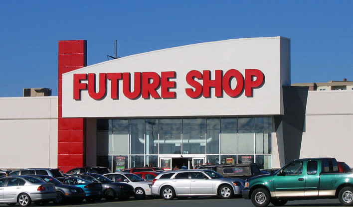 Future Shop is Now the Past
