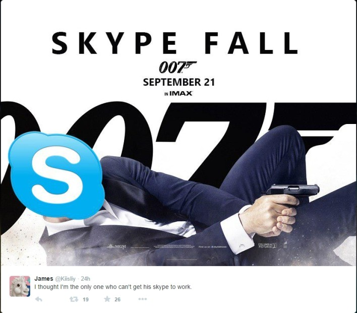 skype for business outage