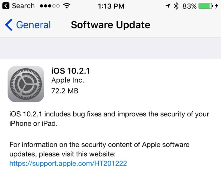 Update Your iOS Device Now