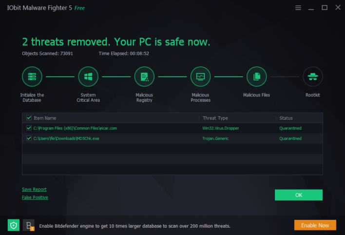 We review the latest release from IObit, Malware Fighter 5.