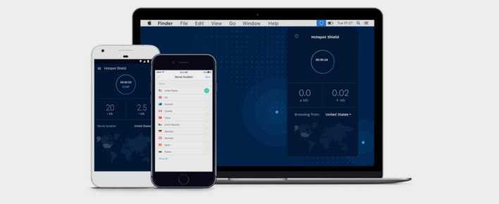 We review HotSpotShield - a versatile internet security and privacy solution