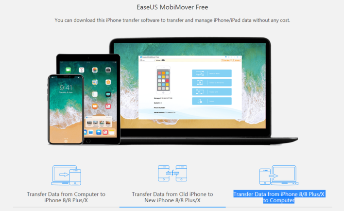 EaseUS MobiMover Free 3.0 for iPhone: Simple, Effective, Intuitive, Free