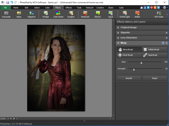 PhotoPad Image Editor Review