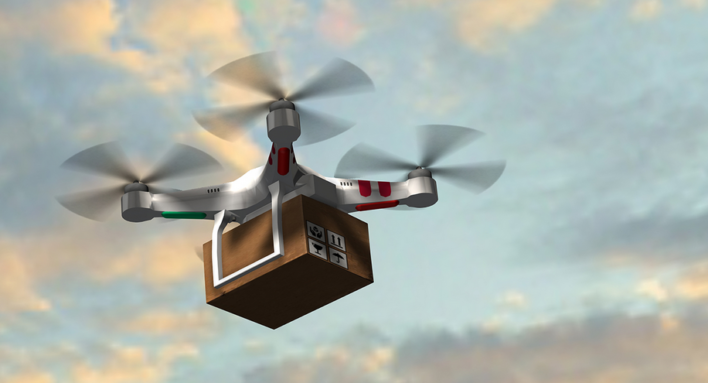 Delivery Drones Are On Their Way… Again