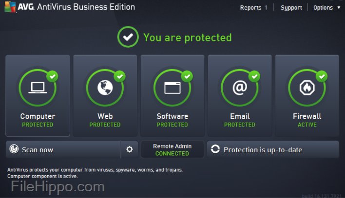 AVG Antivirus Business Edition software