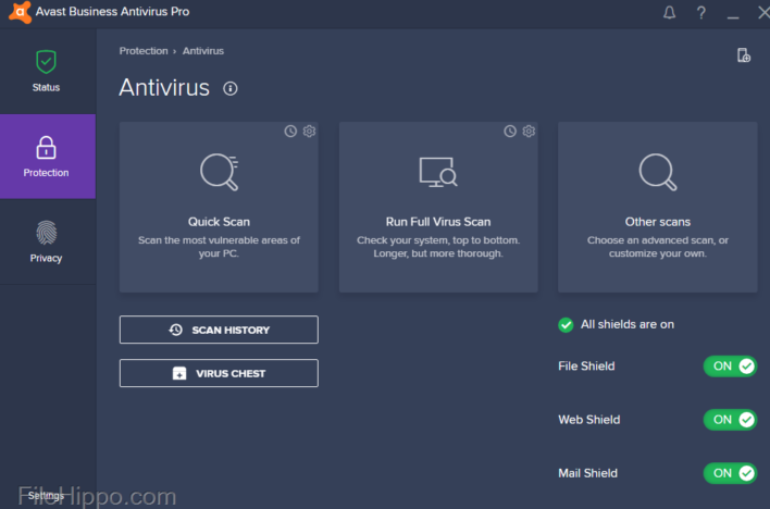 Avast Business Antivirus Pro is a leading security product for business users