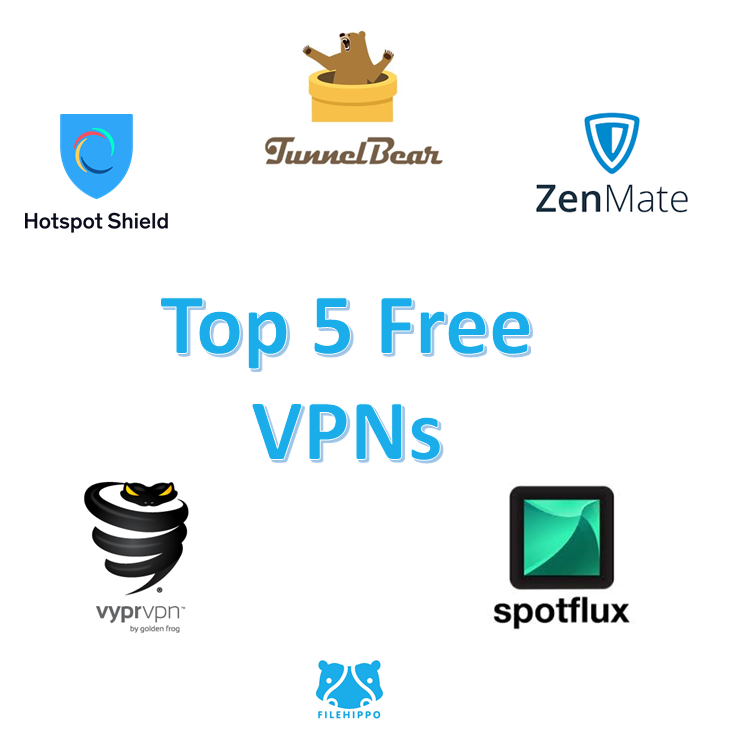 top 5 free vpn software to download filehippo