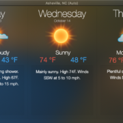 Here's How to Turn Your Mac Desktop into a Weather Window